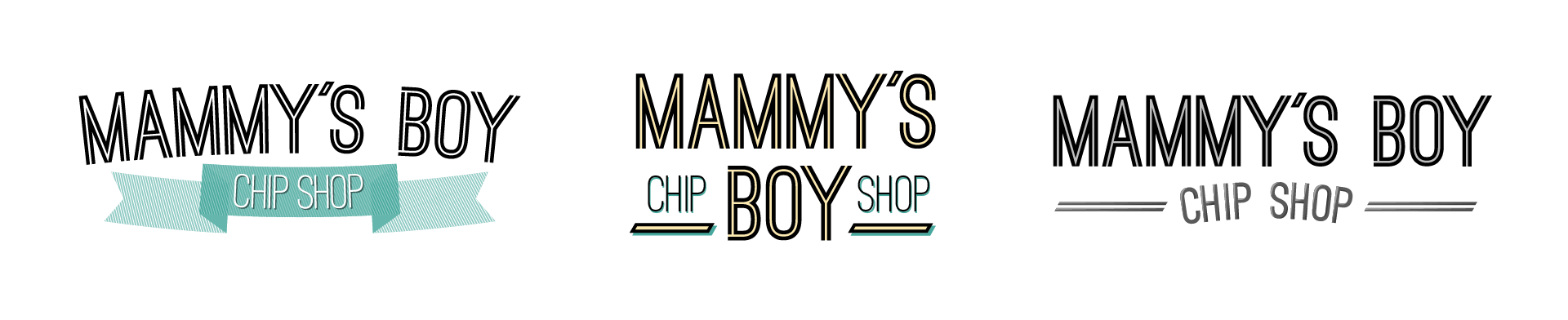 Mammy's Boy Logo Alternate Options