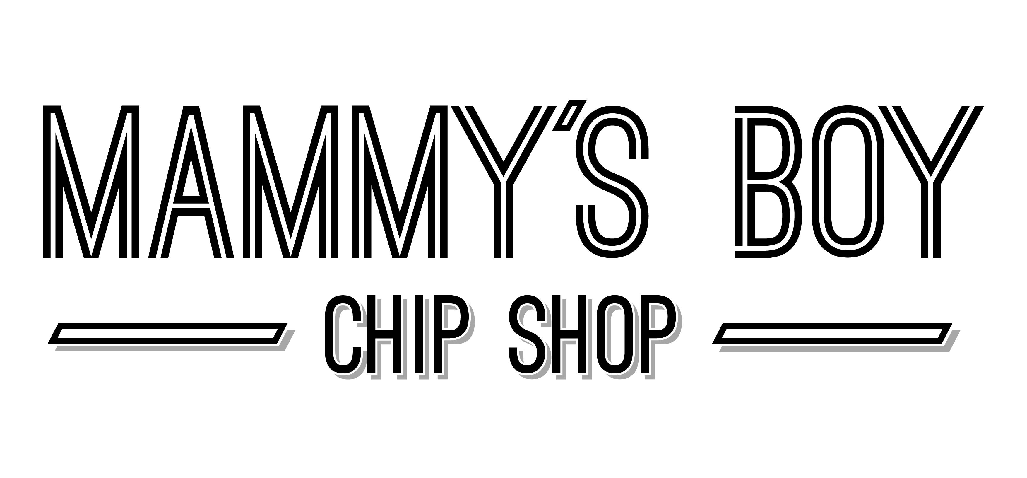 Mammys Boy Logo